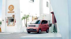 In China fördert der Staat Mini-Cars, wer einen großen Wagen fahren will, muss extra zahlen.