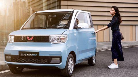 Der Wagen ist für den asiatischen Markt konzipiert, also für kleinere Personen ausgelegt.
