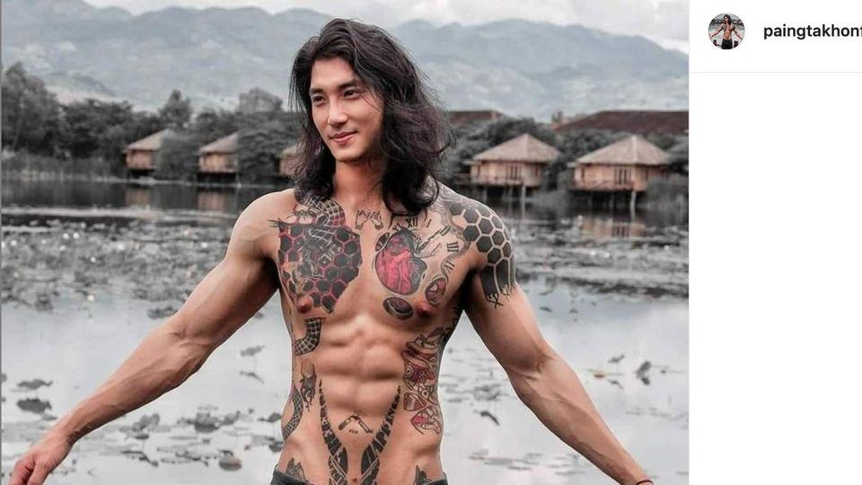 Männermodel Paing Takhon aus Myanmar