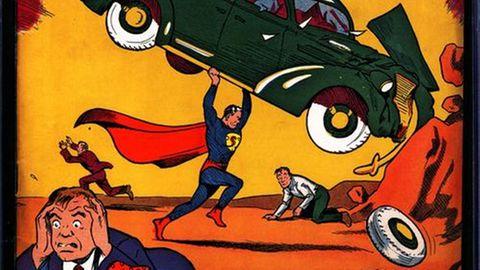"""Cover des """"Action Comics #1"""" von 1938"""
