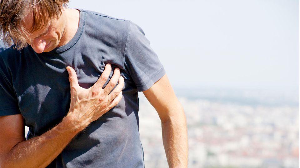 Schmerzen am Brustkorb