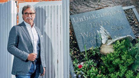 Kommissar Jürgen Schmidt, Grab es unbekannten Babys