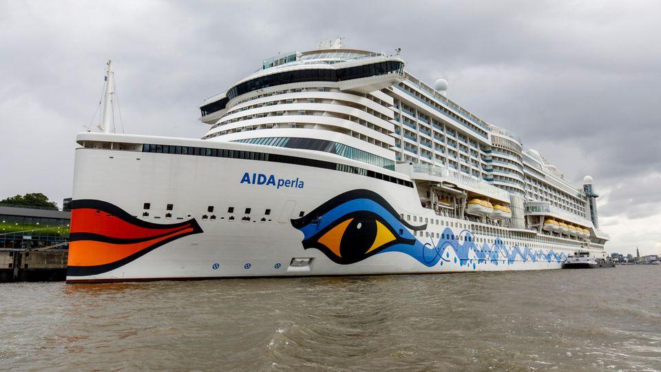 """Die """"Aida Perla"""" steuert als einziges Schiff der Flotte verschiedene Häfen auf den Kanarischen Inseln an"""
