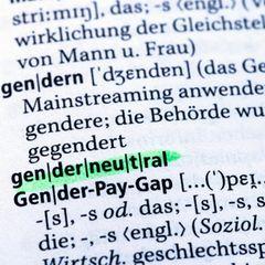 Ein Ausschnitt aus dem Duden zum Begriff gendern und genderneutral