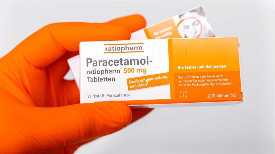 Paracetamol vom Ratiopharm