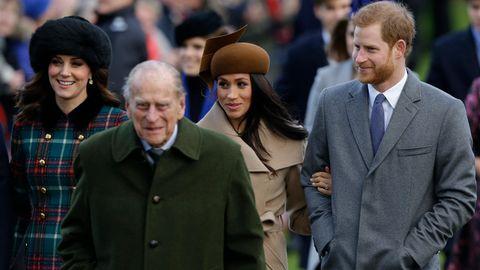 Prinz Philip, Herzogin Meghan, Prinz Harry
