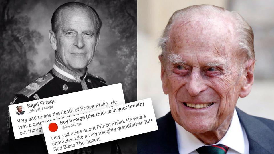 Prinz Philip ist tot – Twitter-Reaktionen