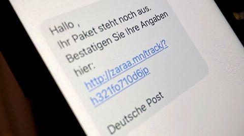 Vermeintliche Paket-SMS kommt von Betrügern