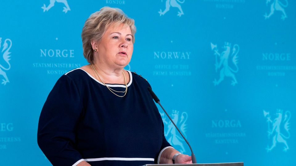 Norwegens Ministerpräsidentin Erna Solberg