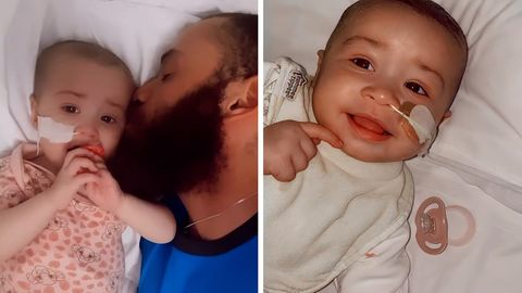 Und die Polizei war auch dabei: Unbemerkt schwanger: Frau bekommt plötzlich Baby beim Zahnarzt