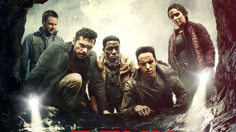 """Zach Avery (zweiter von rechts) kam nicht über Filme wie """"The Devil Below"""" hinaus."""