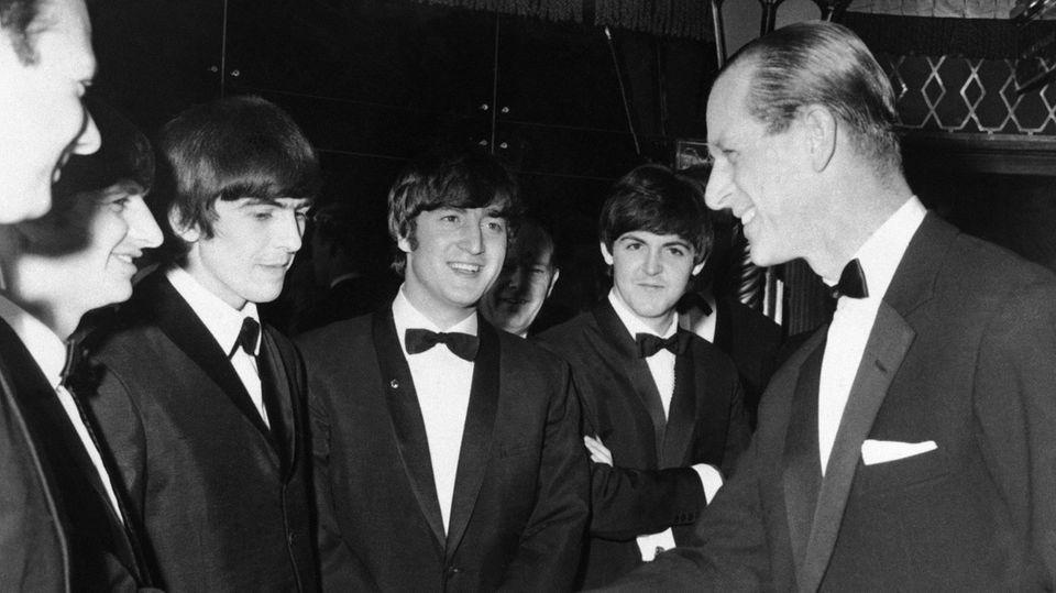 Prinz Philip und die Beatles