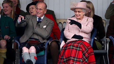 Prinz Philip und Queen Elizabeth II.