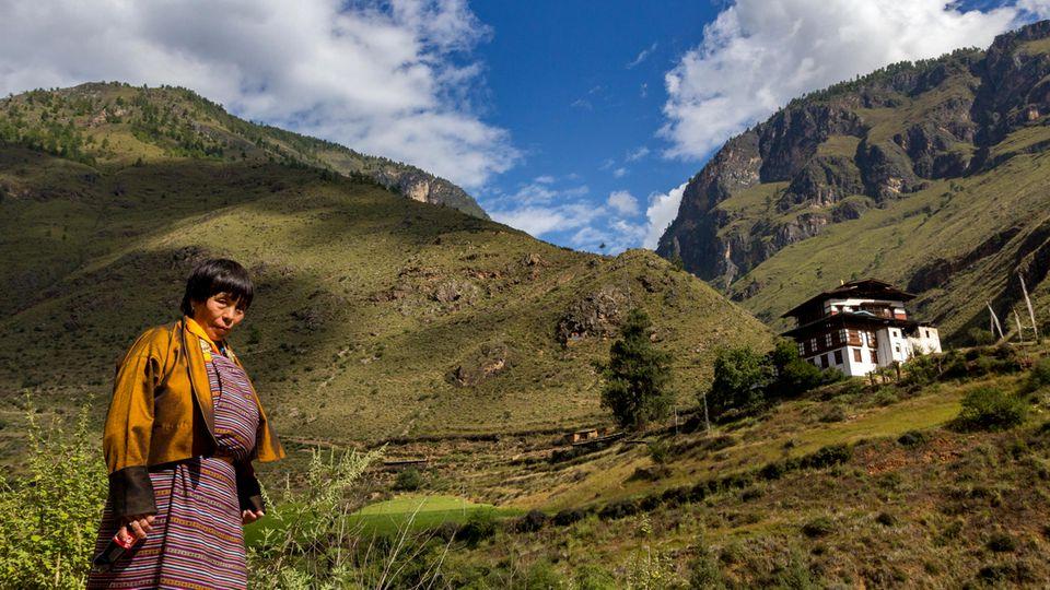 Thimphu, Kingdom of Bhutan.