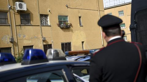 Polizist in Italien
