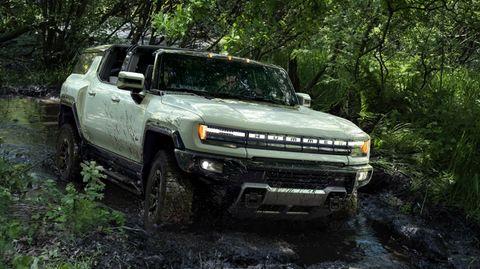 Auch der neue Hummer soll jedes Terrain meistern können.
