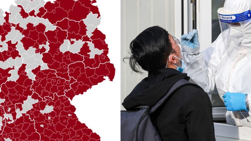 News zur Corona-Pandemie: Entwurf: Lockdown soll bis 18. April verlängert werden – kommen Ausgangssperren?