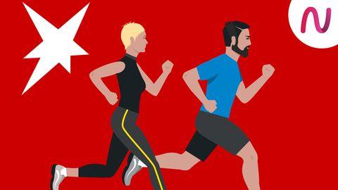 Sie läuft. Er rennt.: Warum Männer beim Laufen oft übertreiben – und was sie von Frauen lernen können