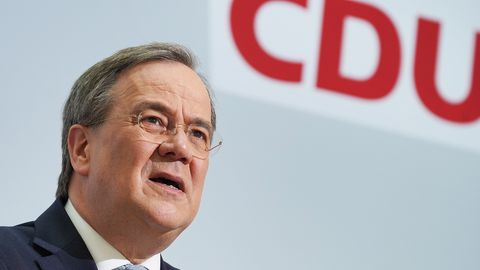 Armin Laschet steht kurz davor, offiziell Kanzlerkandidat der Union zu werden