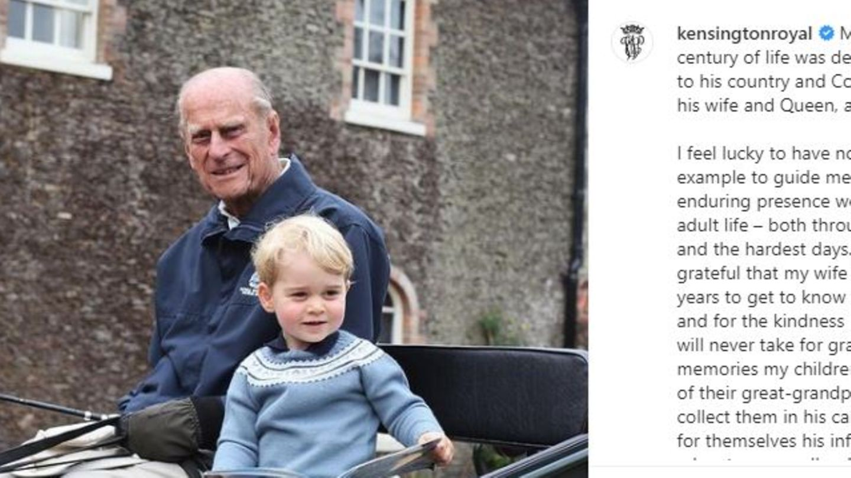 Prinz Philip, Prinz George