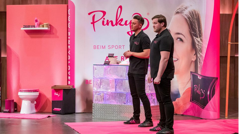 Pinky-Gründer Eugen Raimkulow (links) und Andre Ritterwürden