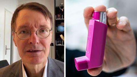 "Gesundheitsexperte Karl Lauterbach sieht in Asthma-Medikament ""Gamechanger"" im Kampf gegen Long-Covid"