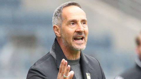 Adi Hütter verlässt die Eintracht Richtung Gladbach
