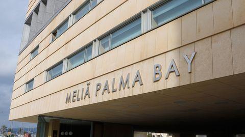 "Das Hotel Meliá Palma Bay fungiert im Moment als ""Corona-Hotel"""