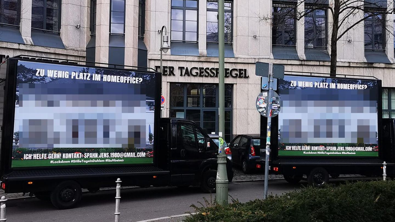 Spahn-Werbung in Berlin