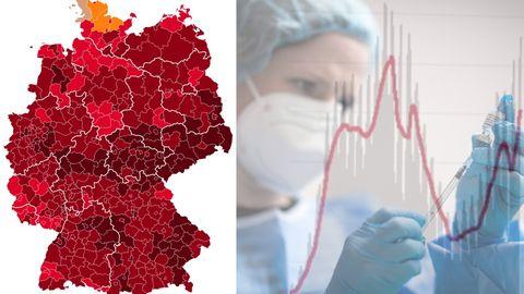 Verheerendes Bild: Neuinfektionen schnellen auf 30.000 – drittes Bundesland über 200er-Inzidenz