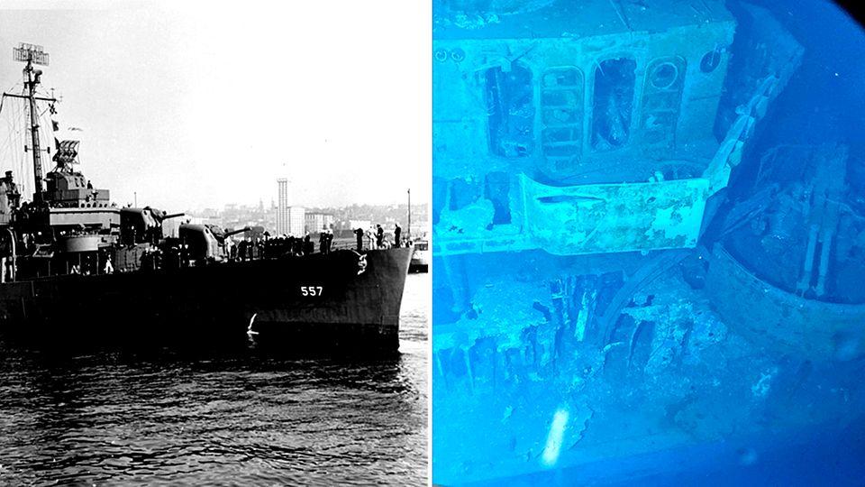 Im Zweiten Weltkrieg gesunken: Video zeigt tiefstes Wrack der Welt in 6500 Metern Tiefe