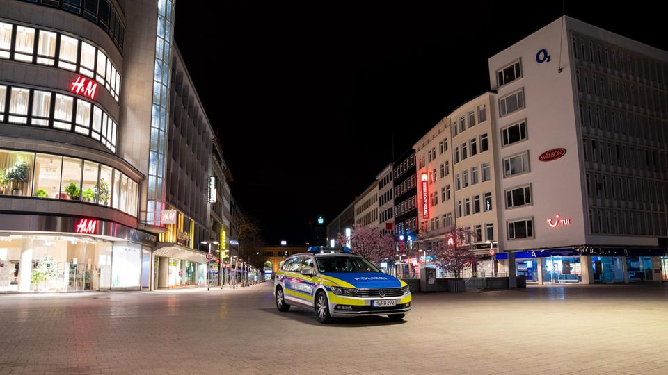 Coronavirus-Ausgangssperre in Hannover