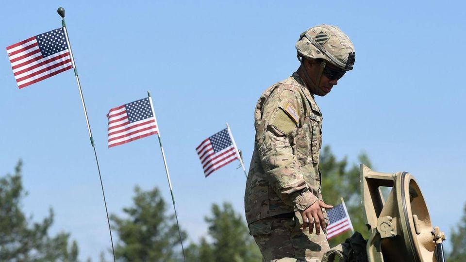 USA schicken 500 weitere Soldaten nach Deutschland