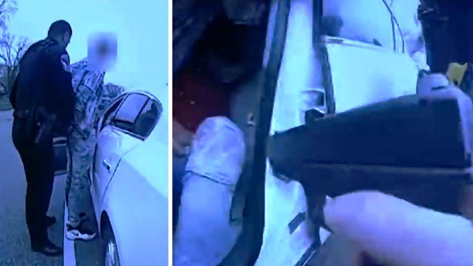 """Polizistin erschießt Schwarzen Daunte Wright angeblich """"versehentlich"""""""