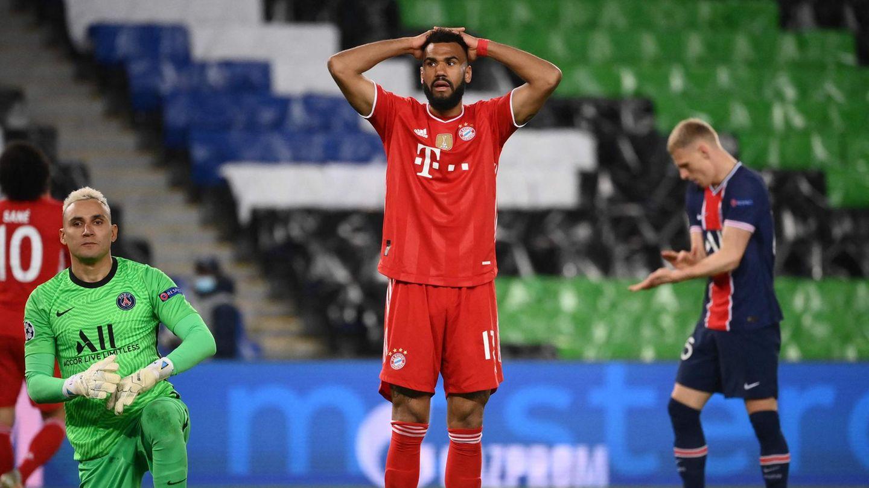 Eric Maxim Choupo-Motin Bayern München gegen Paris Saint-Germain