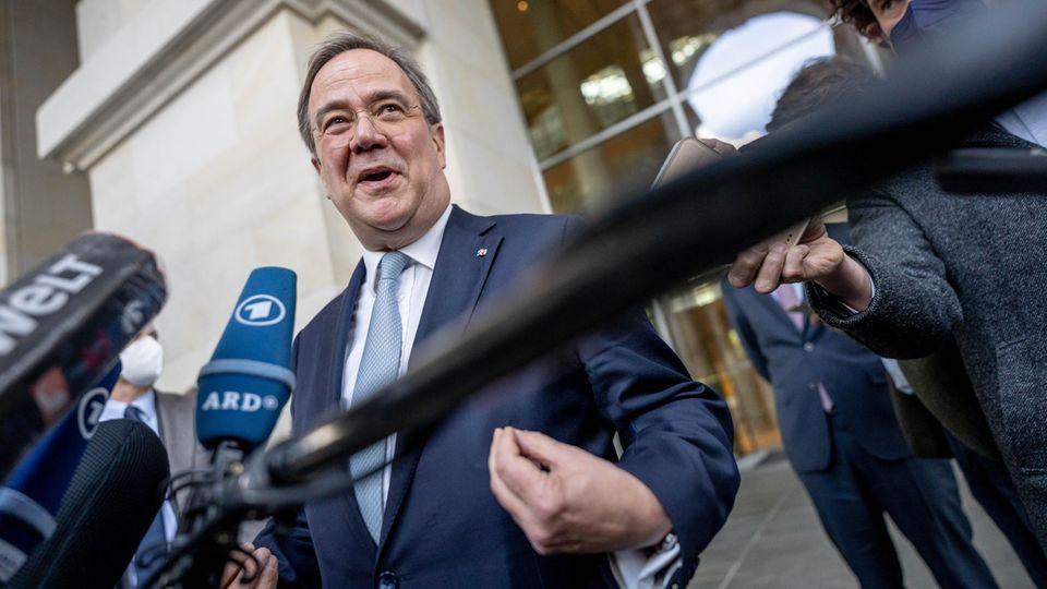 Armin Laschet, CDU-Bundesvorsitzender und Ministerpräsident von Nordrhein-Westfalen