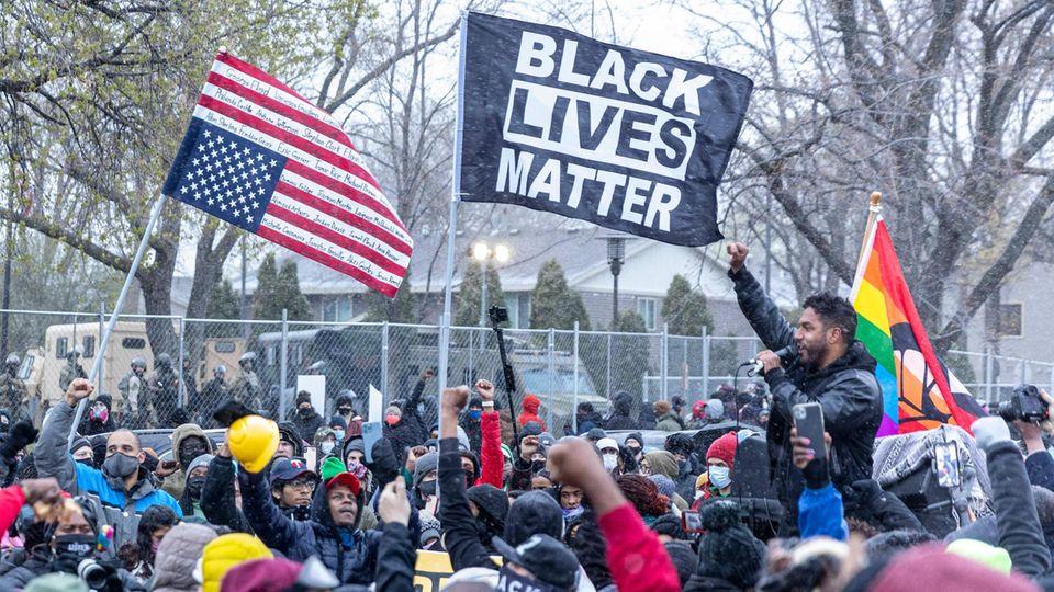 DaunteWrights Tod hat in den USA neue Proteste ausgelöst