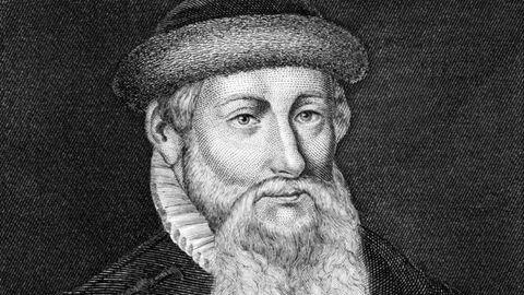 Johannes Gutenberg, Erfinder des Buchdrucks