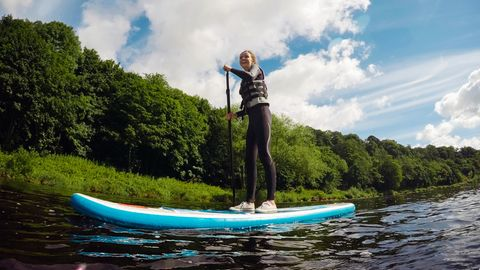 Stand Up Paddling liegt im Trend