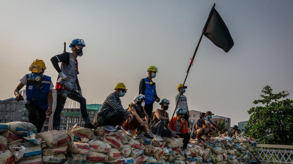 Proteste in Myanmar