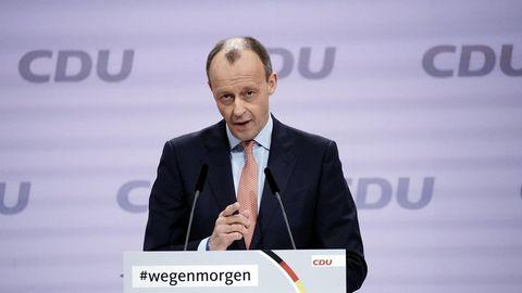 Friedrich Merz, früherer Vorsitzende der Unionsfraktion