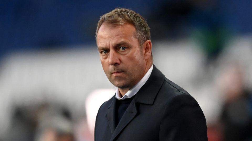 Hans-Dieter Flick, noch Trainer beim FC Bayern