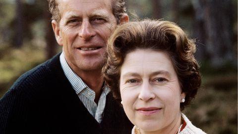 Doppelporträt: 1972 anlässlich ihrer silbernen Hochzeit im schottischen Balmoral.