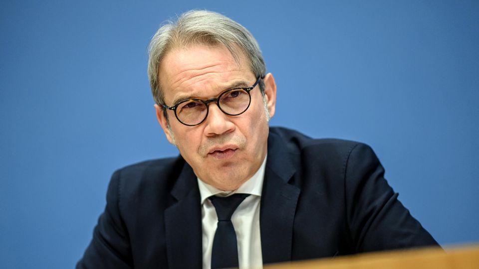 Georg Maier (SPD), Thüringens Innenminister