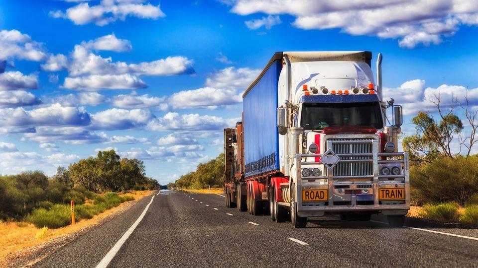 Ein Truckfahrer aus Australien hatte für einen Unfall gesorgt (Symbolbild)