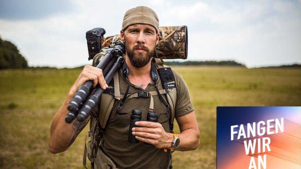 Meeresbiologe und vielfach ausgezeichneter Fotograf und Filmemacher Robert Marc Lehmann.