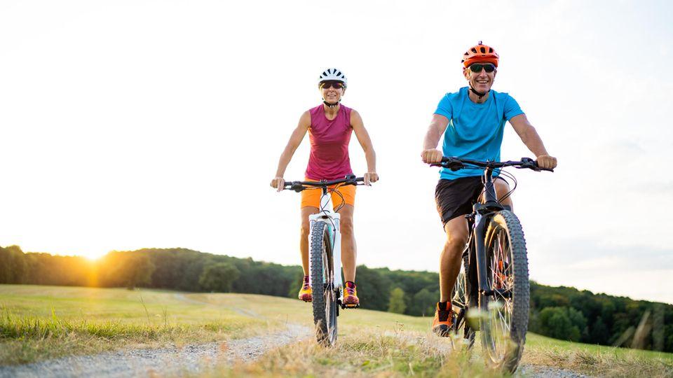 Fahrradfahren gehört für viele in der Freizeit dazu