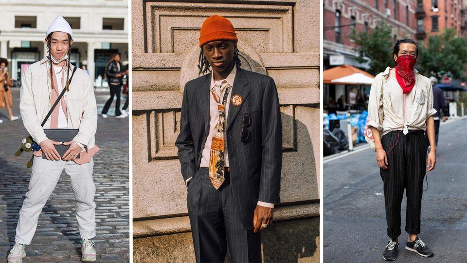 Männer folgen nicht der Mode, sondern ihrem eigenen Geschmack