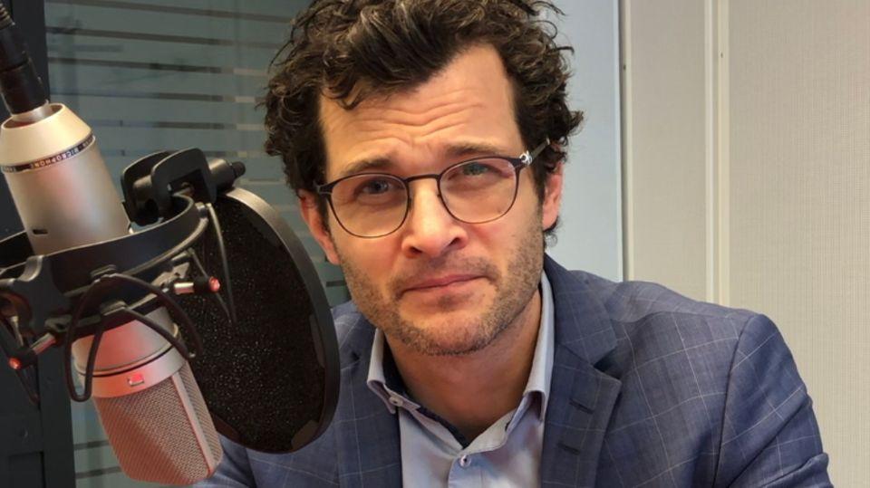 "Benedikt Strunz ist Redakteur bei ""NDR info"""