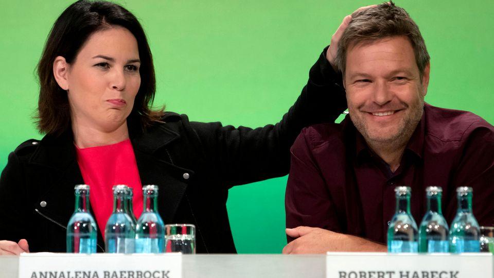 Annalena Baerbock und Robert Habeck.